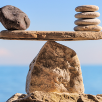How mindfulness can redress the balance when the anxiety scales tip.